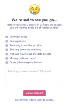 churn survey