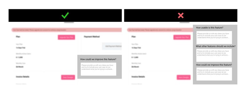 feature surveys focused