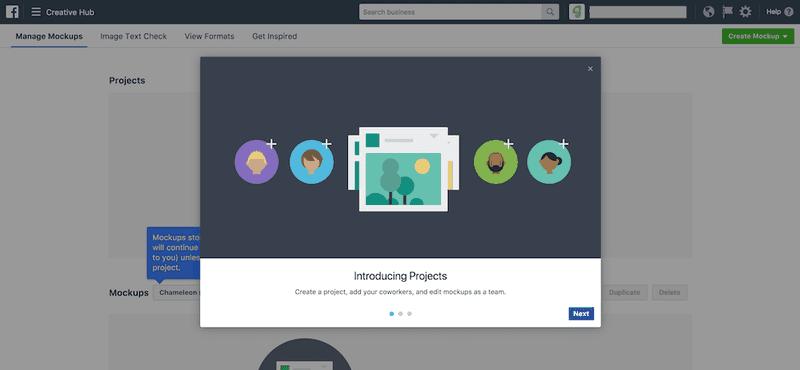 in-app training facebook