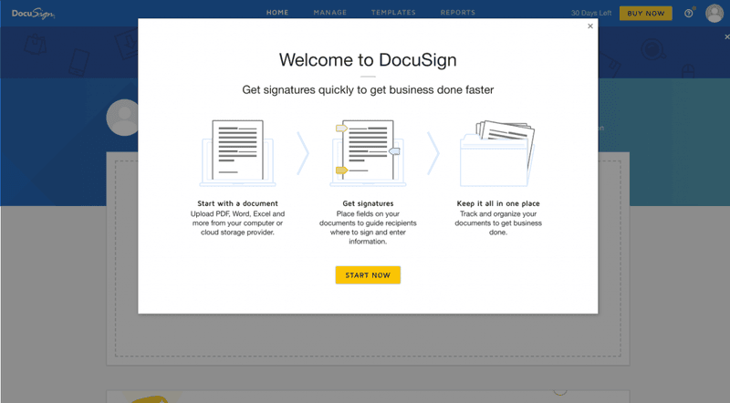 docusign in-app tutorial