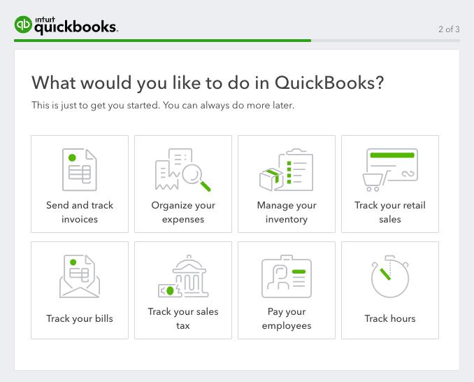 quickbooks use case survey