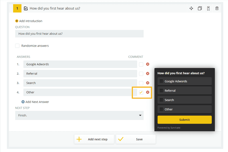survicate customer feedback tools