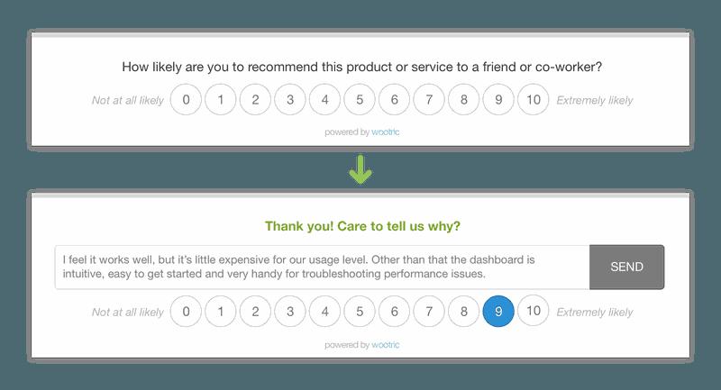 wootric customer feedback tools