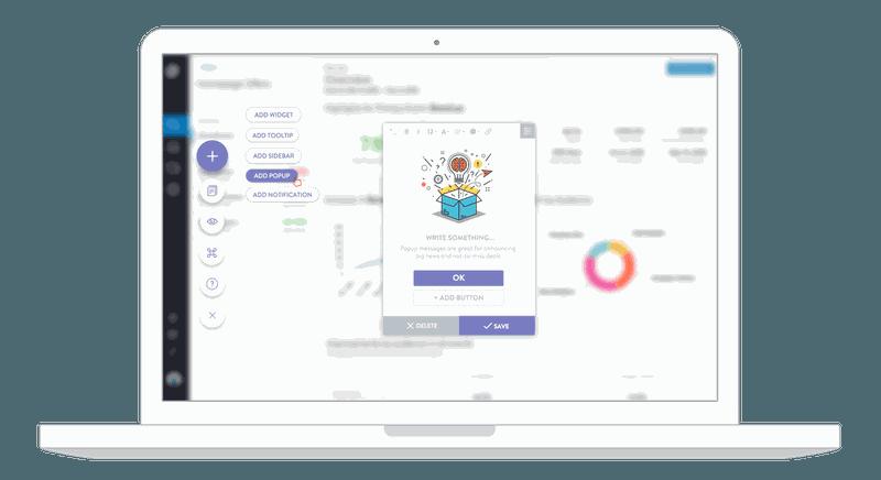 tooltip.io customer onboarding app