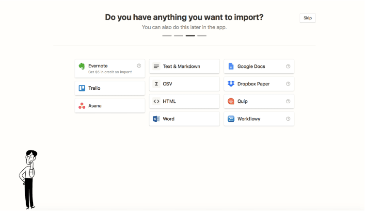 Notion and integrations