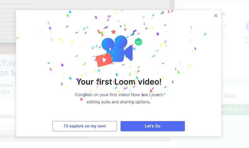 Loom celebrates successful onboarding