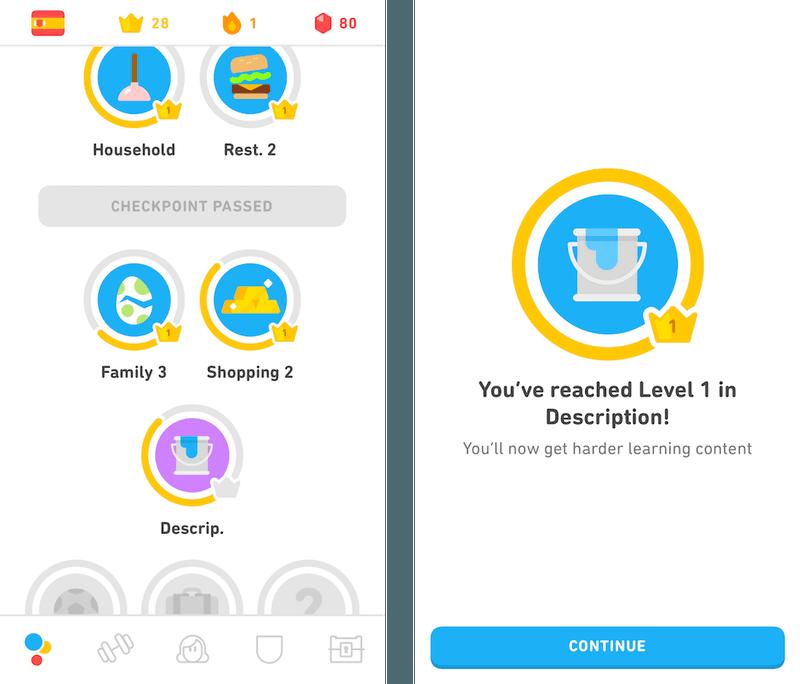 Gamification with Duolingo
