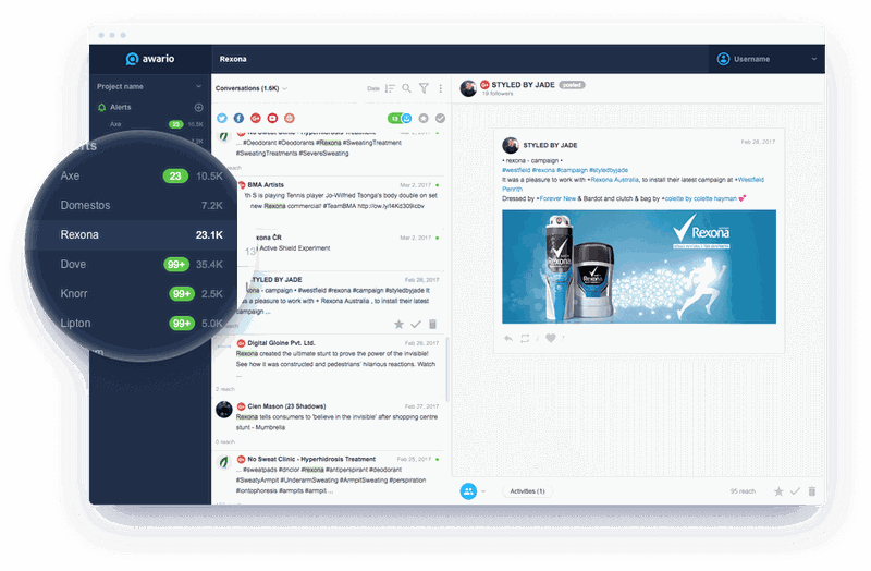 Awario lets you manage negative feedback in-app
