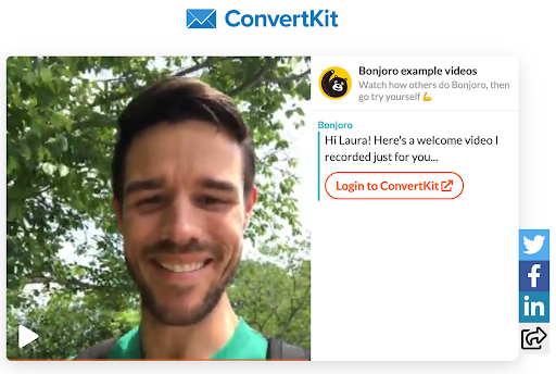 ConvertKit video tutorial