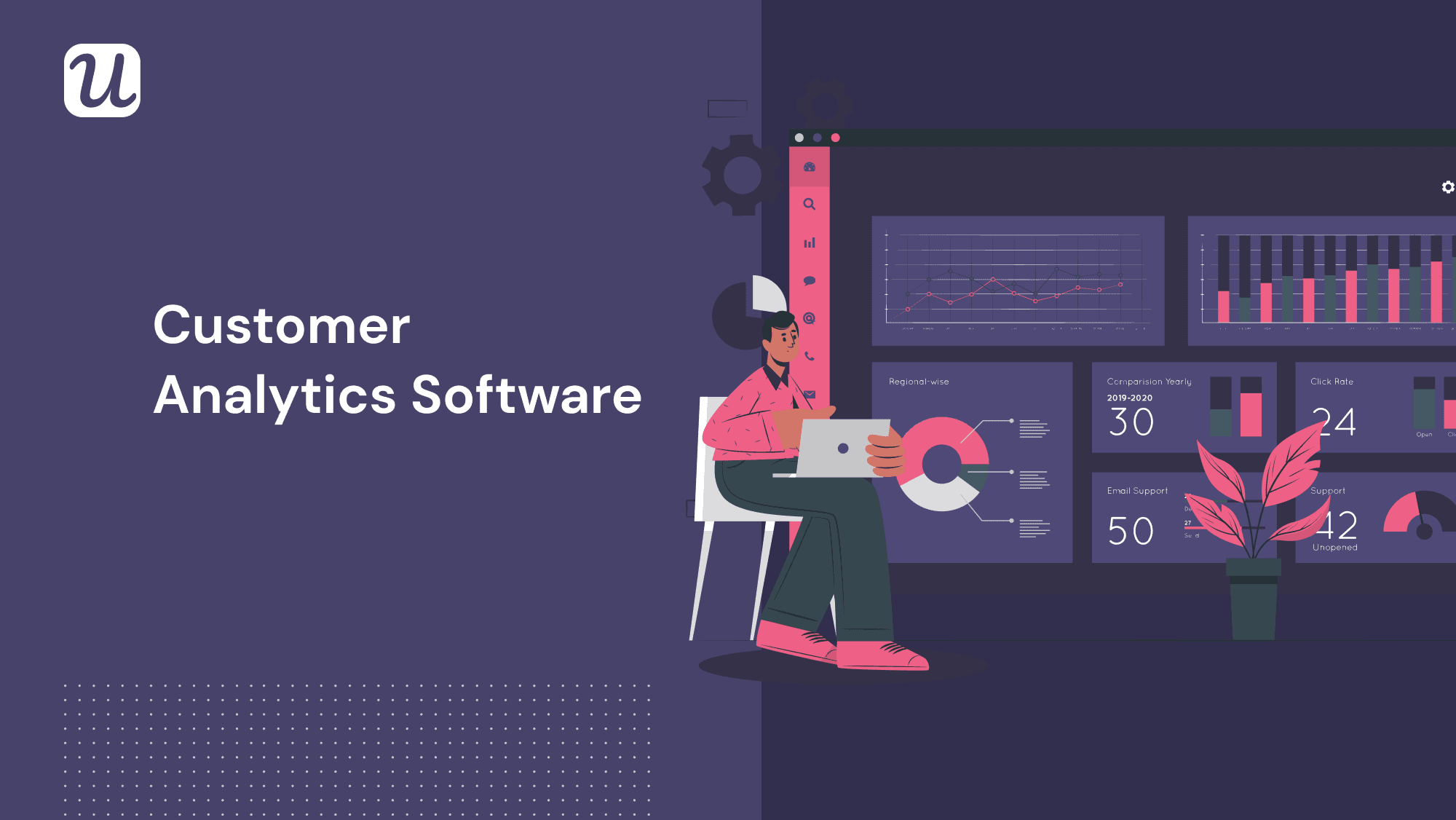 Top 4 Customer Analytics Software Solutions for SaaS businesses